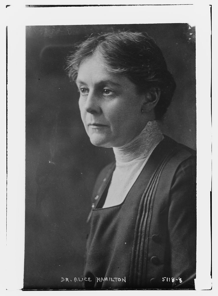 Photograph of Alice Hamilton