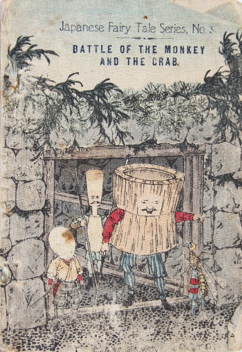 Page 1, Battle of the Monkey and the Crab