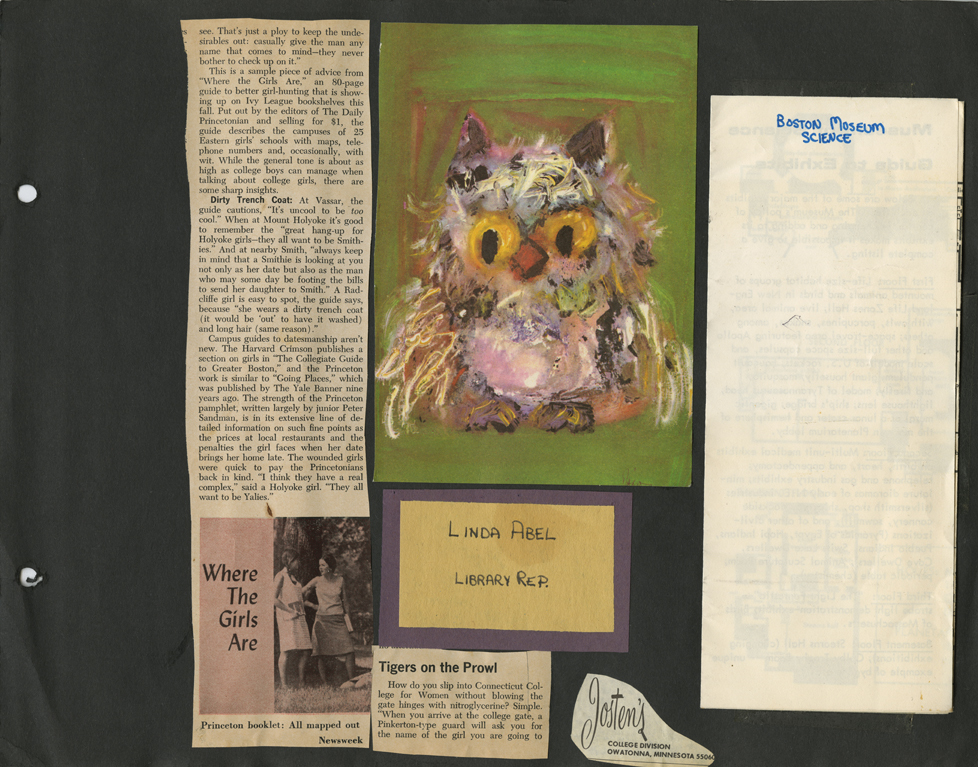 Linda Lee Abel Scrapbook Page 4