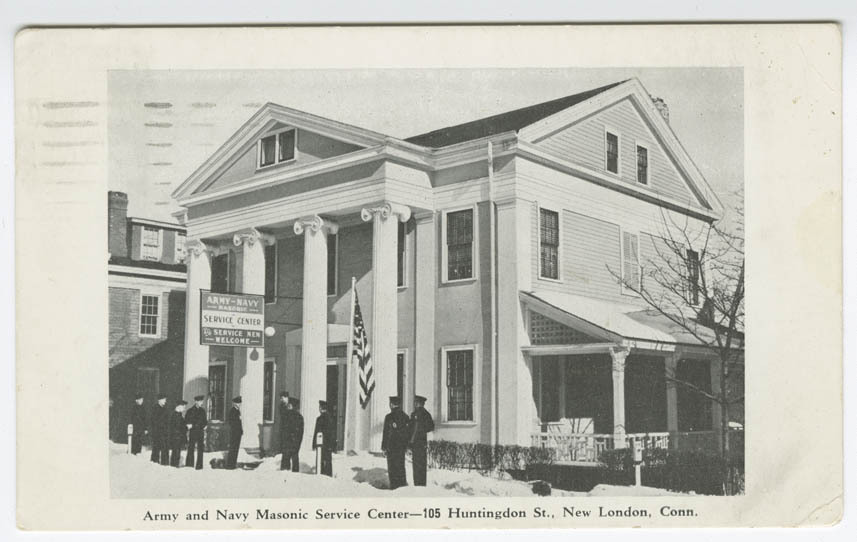 Army and Navy Masonic Service Center — 105 Huntingdon St., New London, Conn.