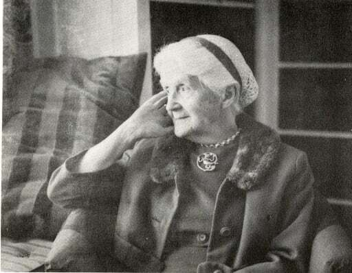 Photograph of Mary Morrison