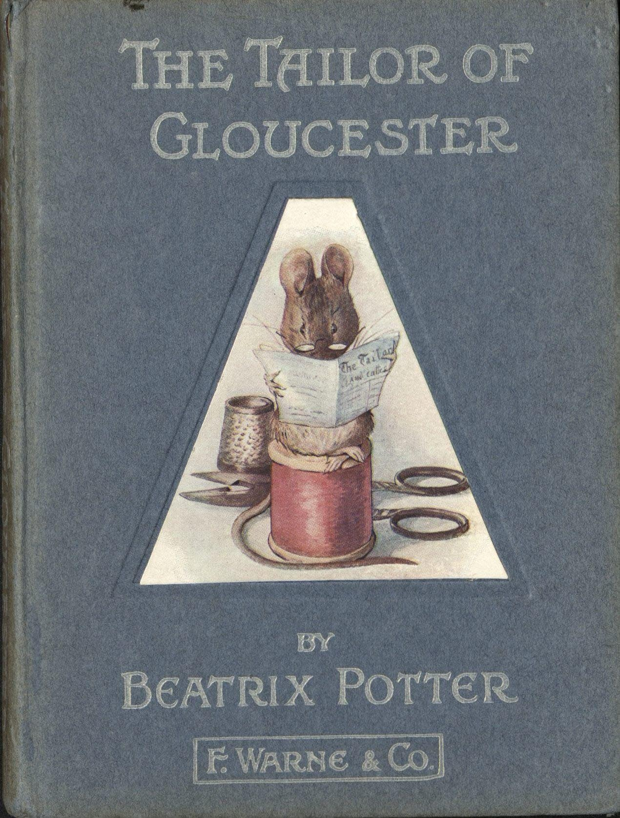 Interior illustration of The Tailor of Gloucester