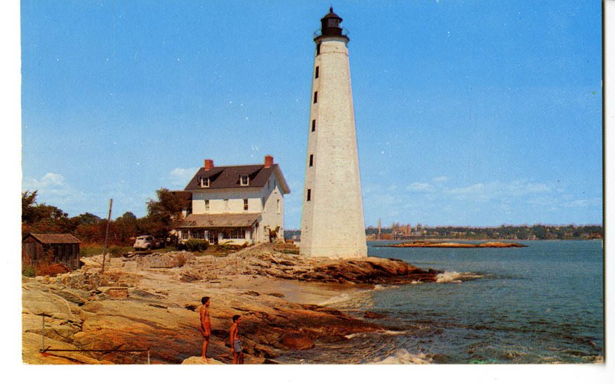 The Lighthouse at New London, Conn.