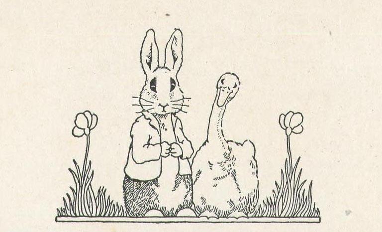 Peter Rabbit in Mother Gooseland