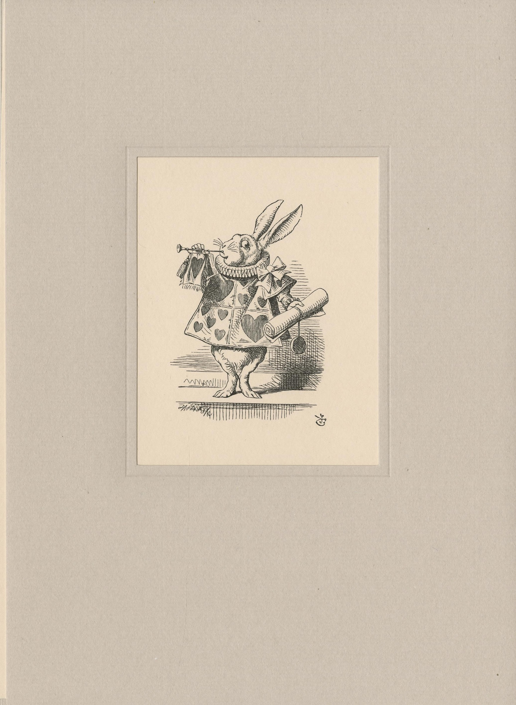 Tenniel Illustrations to Alice in Wonderland Books