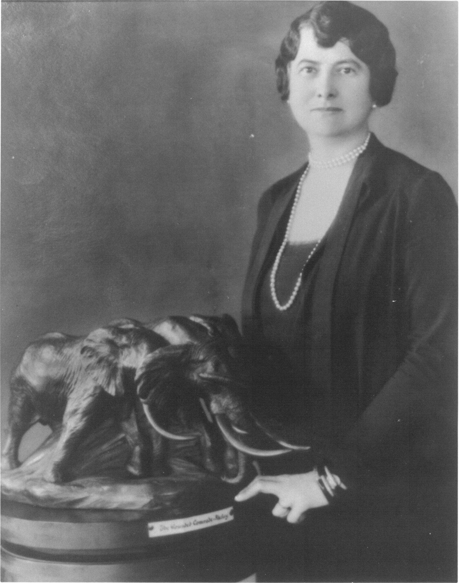 Photograph of Mary Jobe Akeley