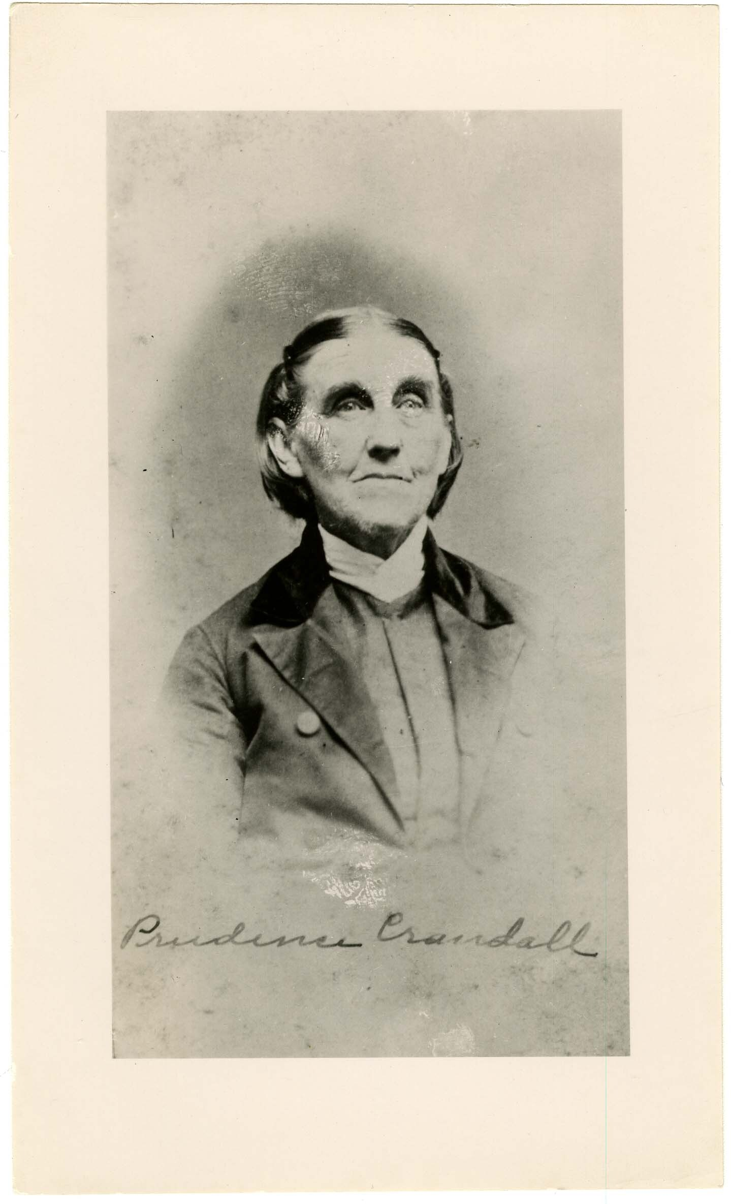 Photograph of Prudence Crandall