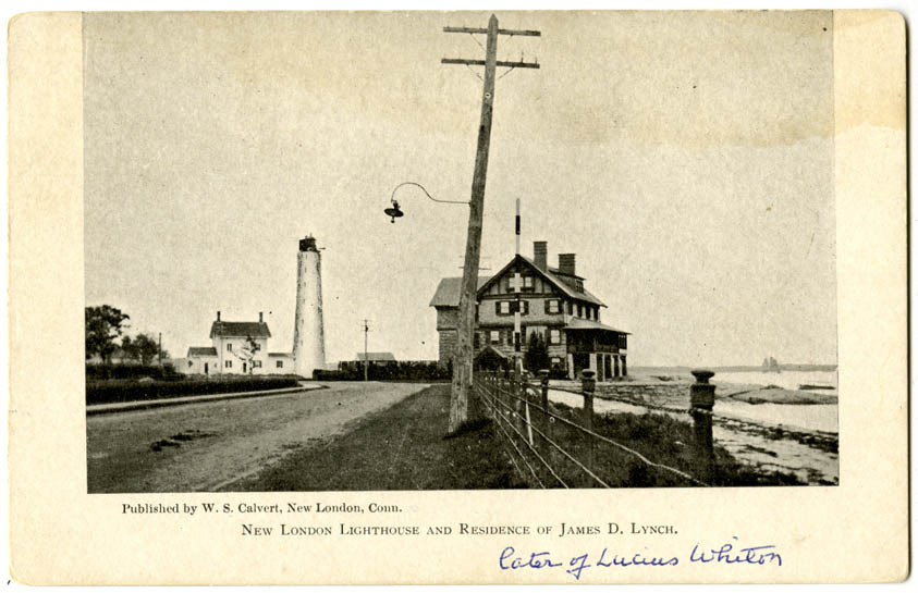 New London Lighthouse and Residence of James D. Lynch