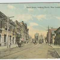 Bank Street, looking North, New London, Conn.