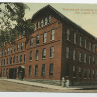 Brainerd and Armstrong Silk Mill, New London, Conn.
