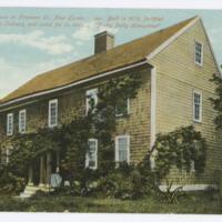 Hempstead House [sic] on Freeman St., New London, Conn.