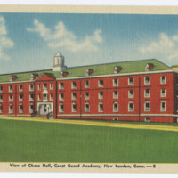 View of Chase Hall, Coast Guard Academy, New London, Conn.