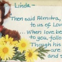 Small Note to Linda