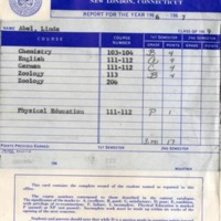 Connecticut College Report Cards