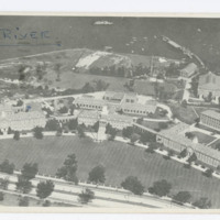 Aerial View of Grounds, U.S. Coast Guard Academy