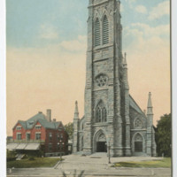 St. Mary's Roman Catholic Church and Rectory, New London, Conn.