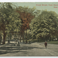 Broad Street, from Huntington Street, New London, Conn.
