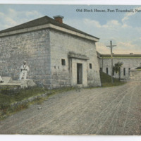 Old Block House, Fort Trumbull, New London, Conn.