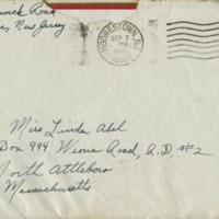 Letter from Nita Mason