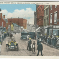 Bank Street from State Street, New London, Conn.