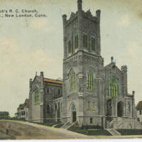 St. Joseph's R.C. Church, Montauk Ave., New London, Conn.