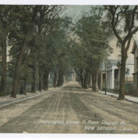 Huntington Street N. from Church St., New London, Conn.
