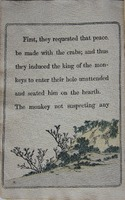 Page 12, Battle of the Monkey and the Crab