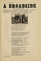 A Broadside: No. 7 Fifth Year