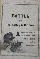 Page 3, Battle of the Monkey and the Crab